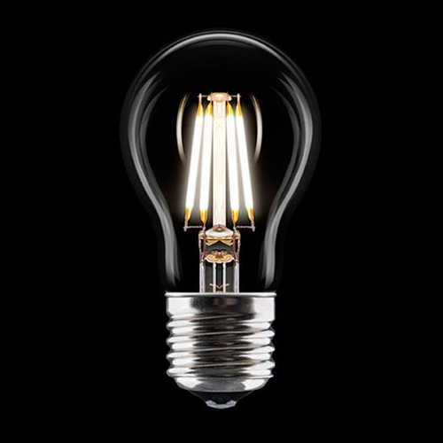 UMAGE Vintage Style Carbon Filament LED A19 Light Bulb Medium Base 120V 45-Watt Equivalent 4041