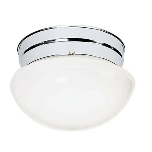Nuvo Lighting Mushroom Flushmount Ceiling Light - 9-1/2-Inches Wide 77/346