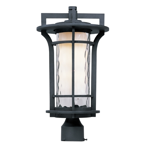 Maxim Lighting Maxim Lighting Oakville Ee Black Oxide Post Light 85780WGBO