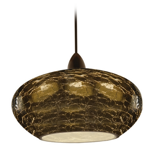 WAC Lighting Wac Lighting Artisan Collection Dark Bronze LED Mini-Pendant MP-LED534-SM/DB