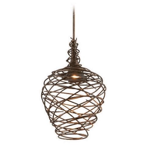 Troy Lighting Troy Lighting Sanctuary Cottage Bronze LED Pendant Light F4184