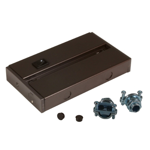 American Lighting American Lighting LED Complete Dark Bronze 7-3/8-Inch Under Cabinet Light Accessory ALC-BOX-DB