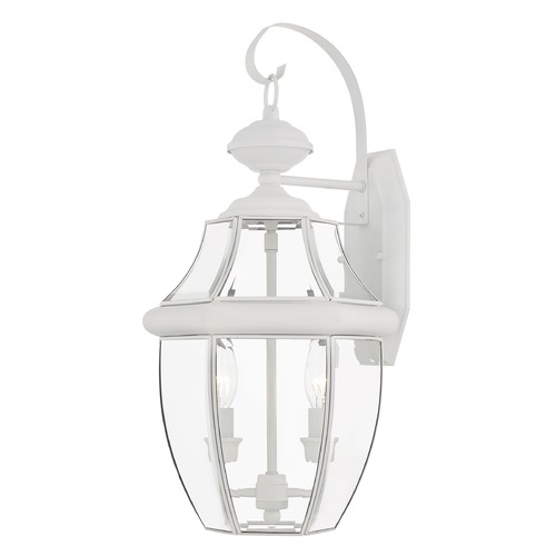 Livex Lighting Livex Lighting Monterey White Outdoor Wall Light 2251-03