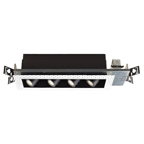 WAC Lighting WAC Lighting Precision Multiples Black LED Recessed Can Light MT-4LD416N-F927-BK