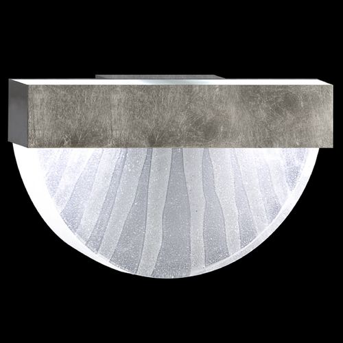 Fine Art Lamps Fine Art Lamps Crystal Bakehouse Silver Leaf Sconce 824550-33ST