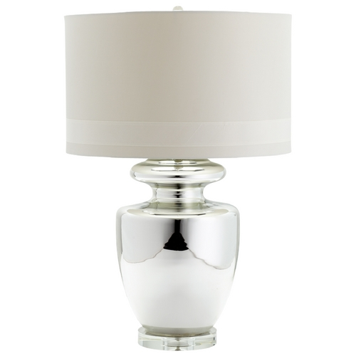 Cyan Design Cyan Design Winnie Polished Chrome Table Lamp with Drum Shade 05562