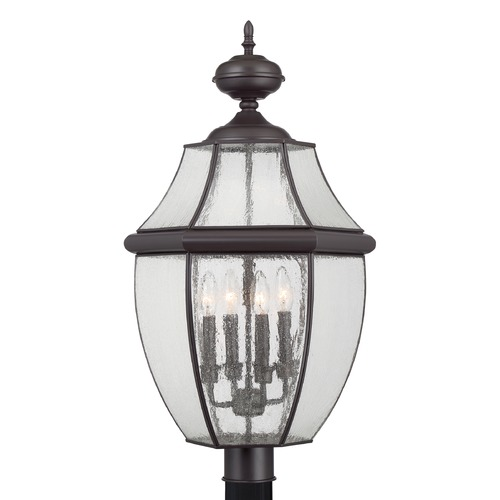 Quoizel Lighting Quoizel Newbury Medici Bronze Post Light NY9016Z