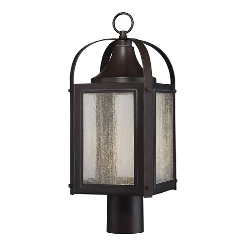 Savoy House Savoy House Lighting Formby English Bronze with Gold LED Post Light 5-333-213