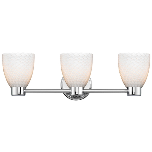 Design Classics Lighting Design Classics Aon Fuse Chrome Bathroom Light 1803-26 GL1020MB