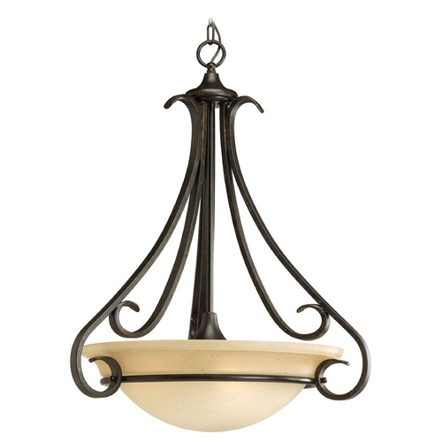 Progress Lighting Progress Pendant Light in Forged Bronze Finish P3847-77