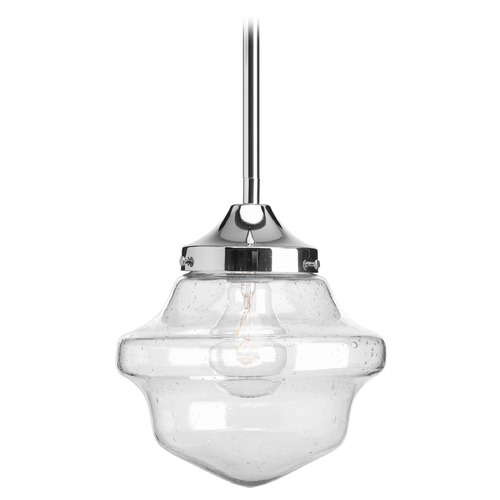 Progress Lighting Progress Lighting Academy Polished Chrome Mini-Pendant Light P5137-15