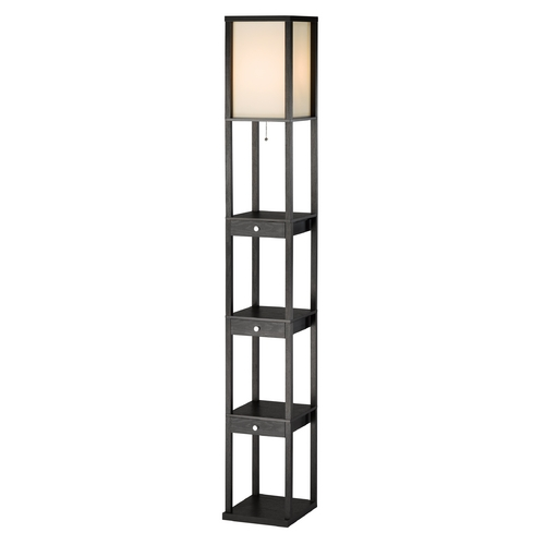 Adesso Home Lighting Adesso Home Lighting Murray Black Gallery Tray Lamp 3450-01
