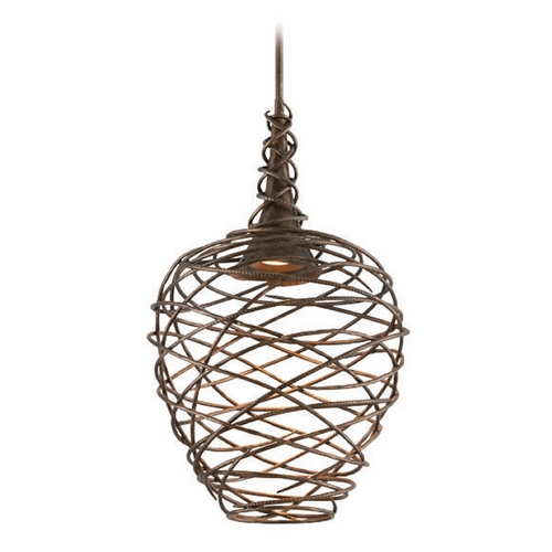Troy Lighting Troy Lighting Sanctuary Cottage Bronze LED Pendant Light F4185
