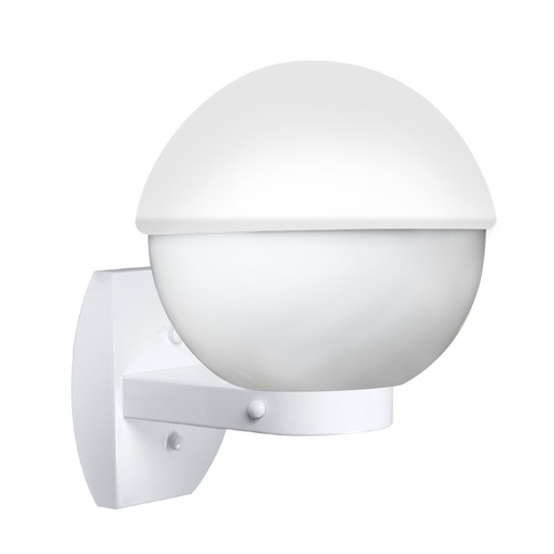 Besa Lighting Outdoor Wall Light White Costaluz by Besa Lighting 307807-WALL