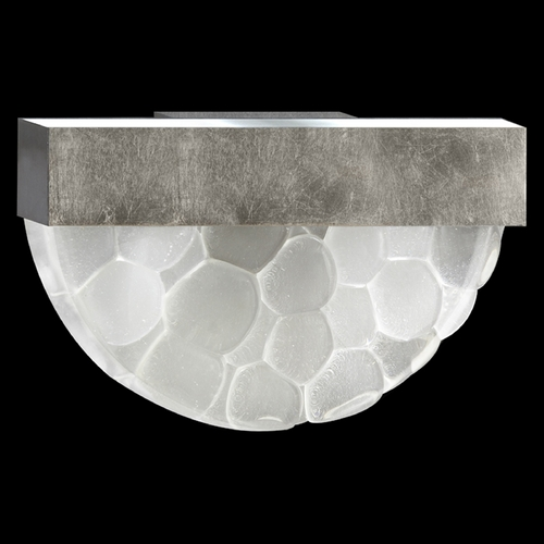 Fine Art Lamps Fine Art Lamps Crystal Bakehouse Silver Leaf Sconce 824550-34ST