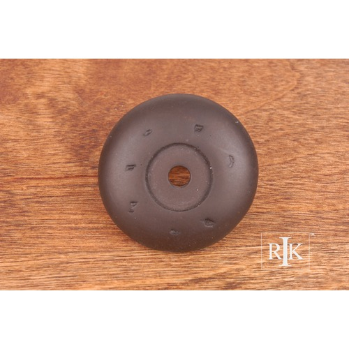 RK International Distressed Knob Backplate BP486RB