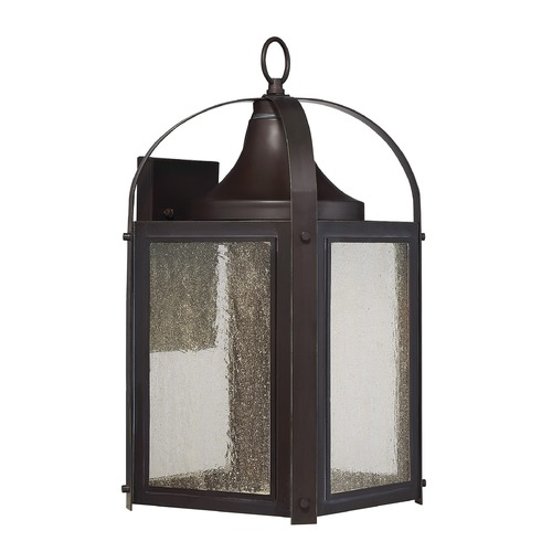 Savoy House Savoy House Lighting Formby English Bronze with Gold LED Outdoor Wall Light 5-334-213