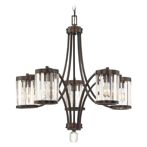 Savoy House Savoy House Lighting Nora Burnished Bronze Chandelier 1-4060-5-28