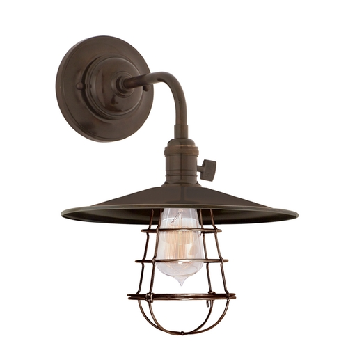 Hudson Valley Lighting Sconce Wall Light in Old Bronze Finish 8000-OB-MS1-WG
