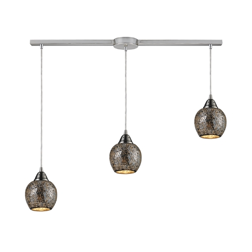 Elk Lighting Multi-Light Pendant Light 3-Lights 10208/3L-SLV