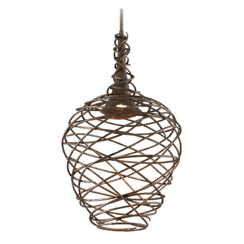 Troy Lighting Troy Lighting Sanctuary Cottage Bronze LED Pendant Light F4186