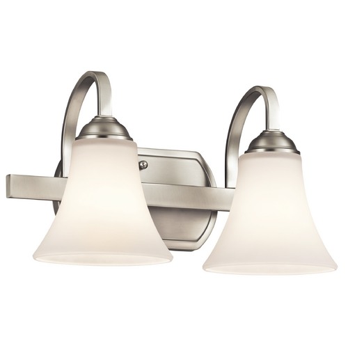 Kichler Lighting Kichler Lighting Keiran Brushed Nickel Bathroom Light 45512NI