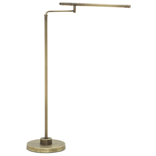 House of Troy Lighting House Of Troy Slim-Line Antique Brass LED Floor Lamp SLED500-AB