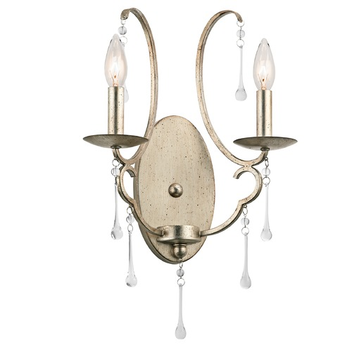 Kichler Lighting Kichler Lighting Shelsley Sterling Gold Sconce 43623SGD