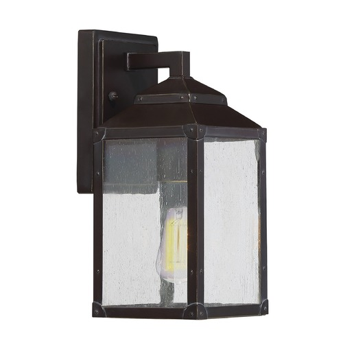 Savoy House Savoy House Lighting Brennan English Bronze with Gold Outdoor Wall Light 5-340-213