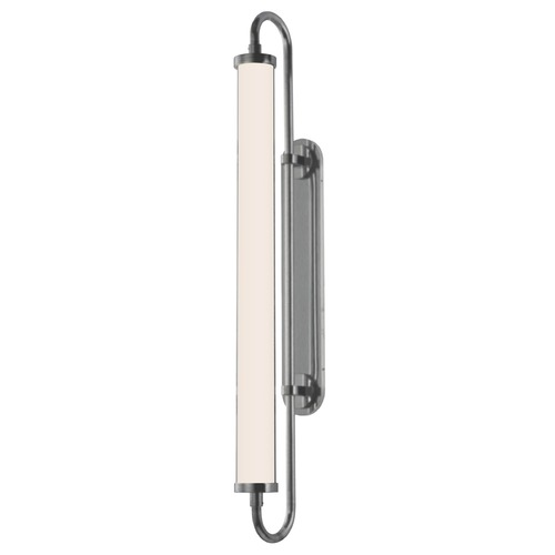 Sonneman Lighting Bauhaus Revisited Satin Chrome LED Bathroom Light - Vertical Mounting Only 2492.23