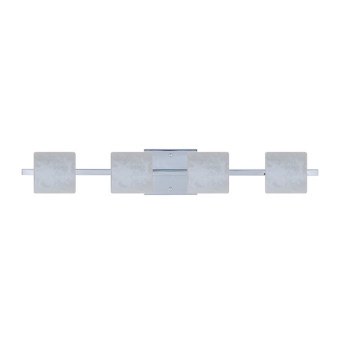 Besa Lighting Besa Lighting Paolo Chrome LED Bathroom Light 4WS-787319-LED-CR