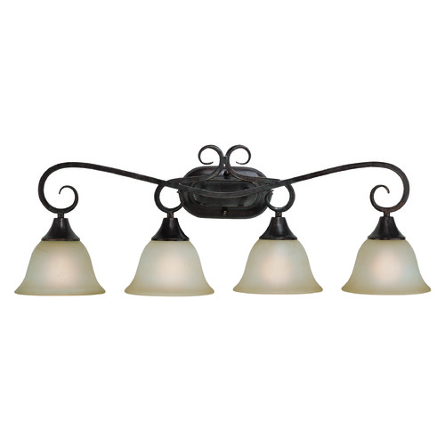 Jeremiah Lighting Jeremiah Torrey Burnished Armor Bathroom Light 24904-BA