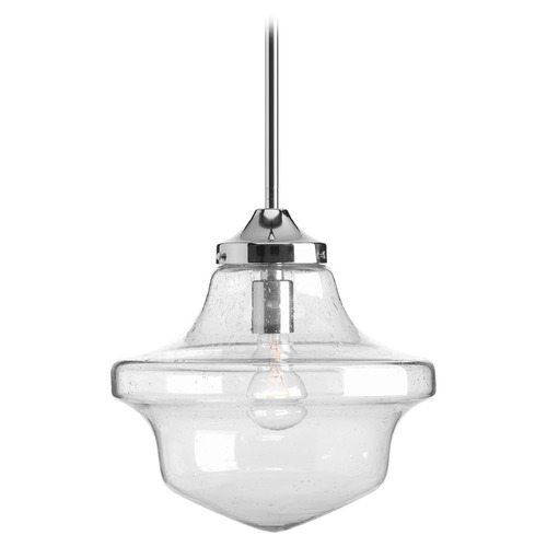 Progress Lighting Progress Lighting Academy Polished Chrome Pendant Light P5138-15