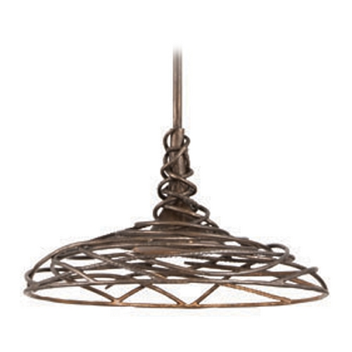 Troy Lighting Troy Lighting Sanctuary Cottage Bronze LED Pendant Light F4187