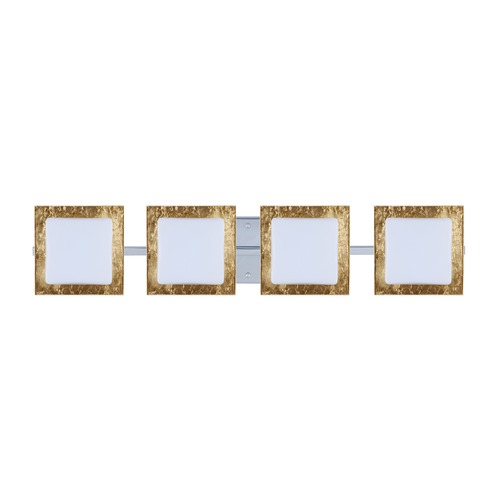 Besa Lighting Besa Lighting Alex Chrome Bathroom Light 4WS-7735GF-CR