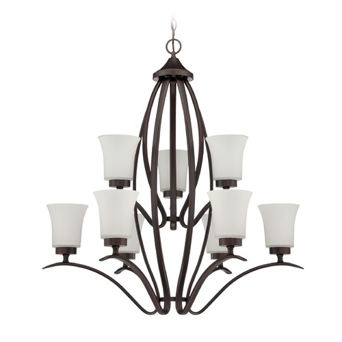 Jeremiah Lighting Jeremiah Lighting Northlake Aged Bronze Chandelier 38329-ABZ