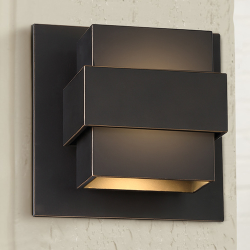 Modern Forms by WAC Lighting Pandora LED Wall Light WS-W30507-ORB