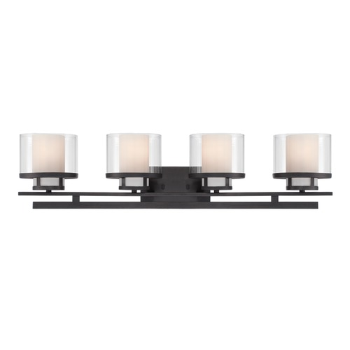 Designers Fountain Lighting Designers Fountain Fusion Biscayne Bronze Bathroom Light 86104-BBR