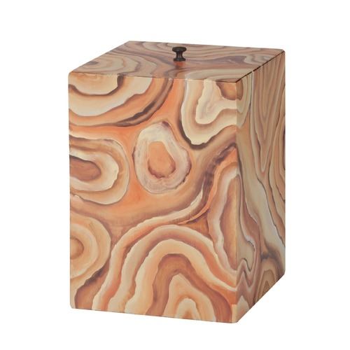 Dimond Home Dimond Home Desert Agate Trash Can 7011-536