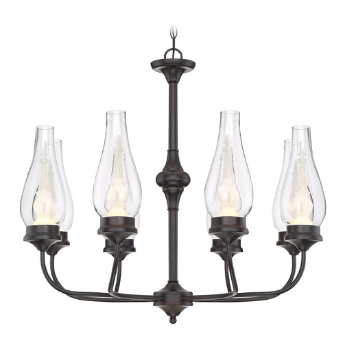 Savoy House Savoy House Lighting Wickford English Bronze LED Chandelier 1-4090-8-13