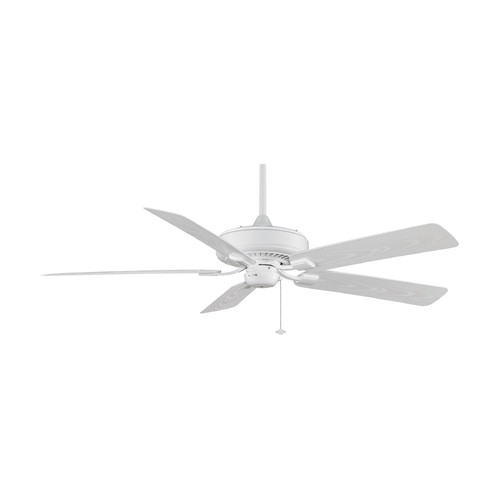 Fanimation Fans Ceiling Fan Without Light in White Finish TF971WH