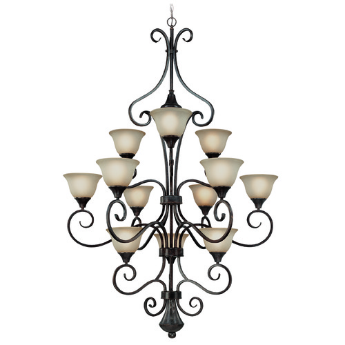 Jeremiah Lighting Jeremiah Torrey Burnished Armor Chandelier 24912-BA