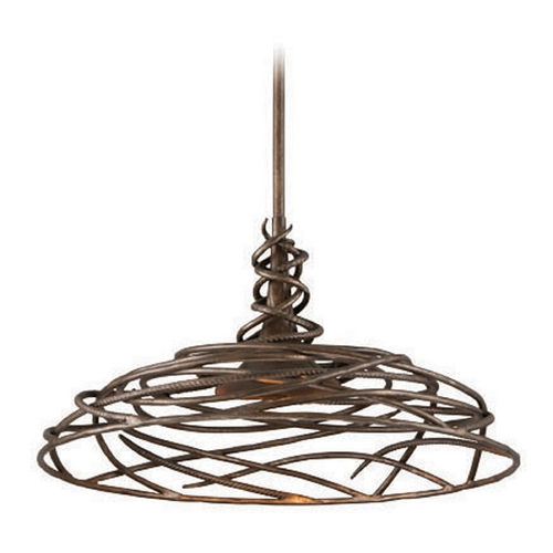 Troy Lighting Troy Lighting Sanctuary Cottage Bronze LED Pendant Light F4188