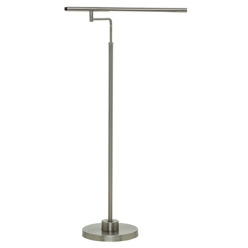 House of Troy Lighting House Of Troy Slim-Line Satin Nickel LED Floor Lamp SLED500-SN
