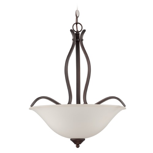 Jeremiah Lighting Jeremiah Lighting Northlake Aged Bronze Pendant Light 38343-ABZ