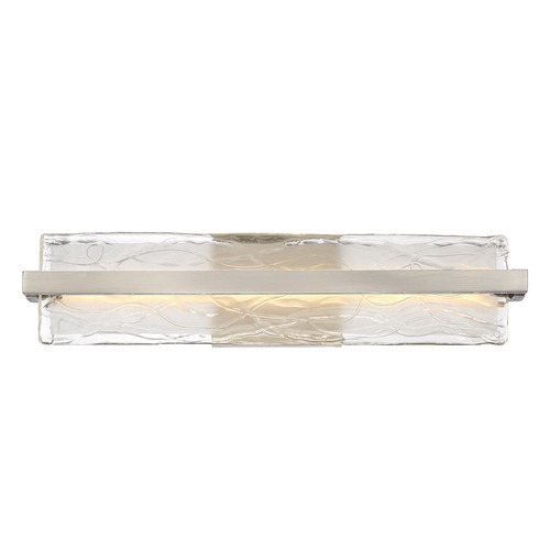 Quoizel Lighting Quoizel Platinum Collection Glacial Brushed Nickel LED Bathroom Light PCGL8522BN