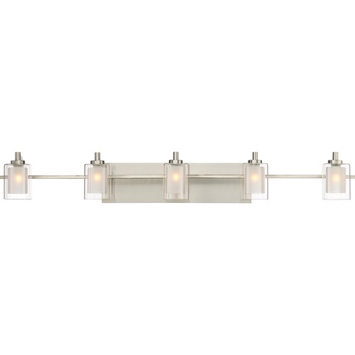 Quoizel Lighting Quoizel Lighting Kolt Brushed Nickel LED Bathroom Light KLT8605BNLED