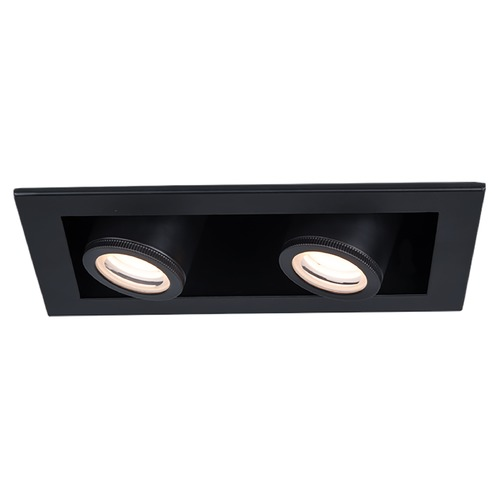WAC Lighting Wac Lighting Silo Multiples Black / Black LED Recessed Kit MT-4215T-930-BKBK