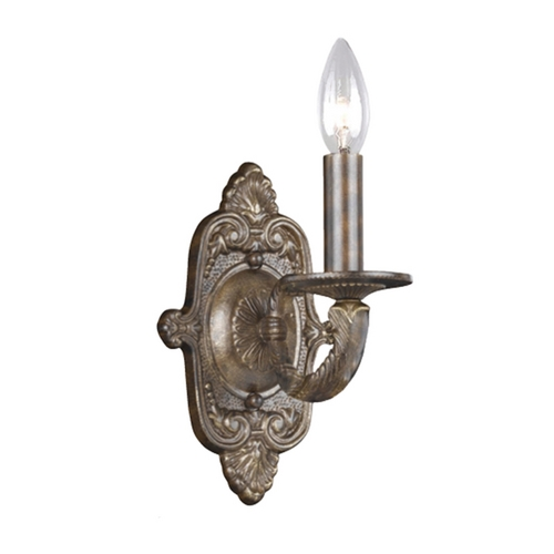 Crystorama Lighting Sconce Wall Light in Venetian Bronze Finish 5111-VB