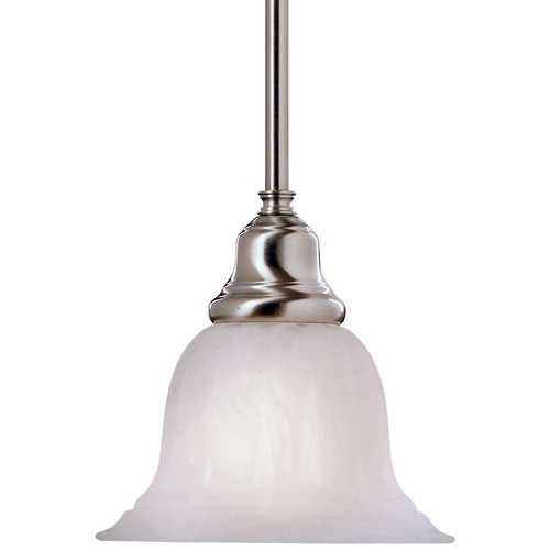 Dolan Designs Lighting Mini-Pendant with Alabaster Glass 649-09